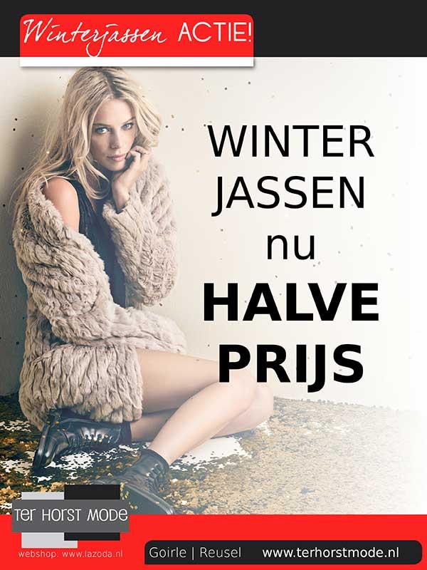 Winterjassen Halve prijs